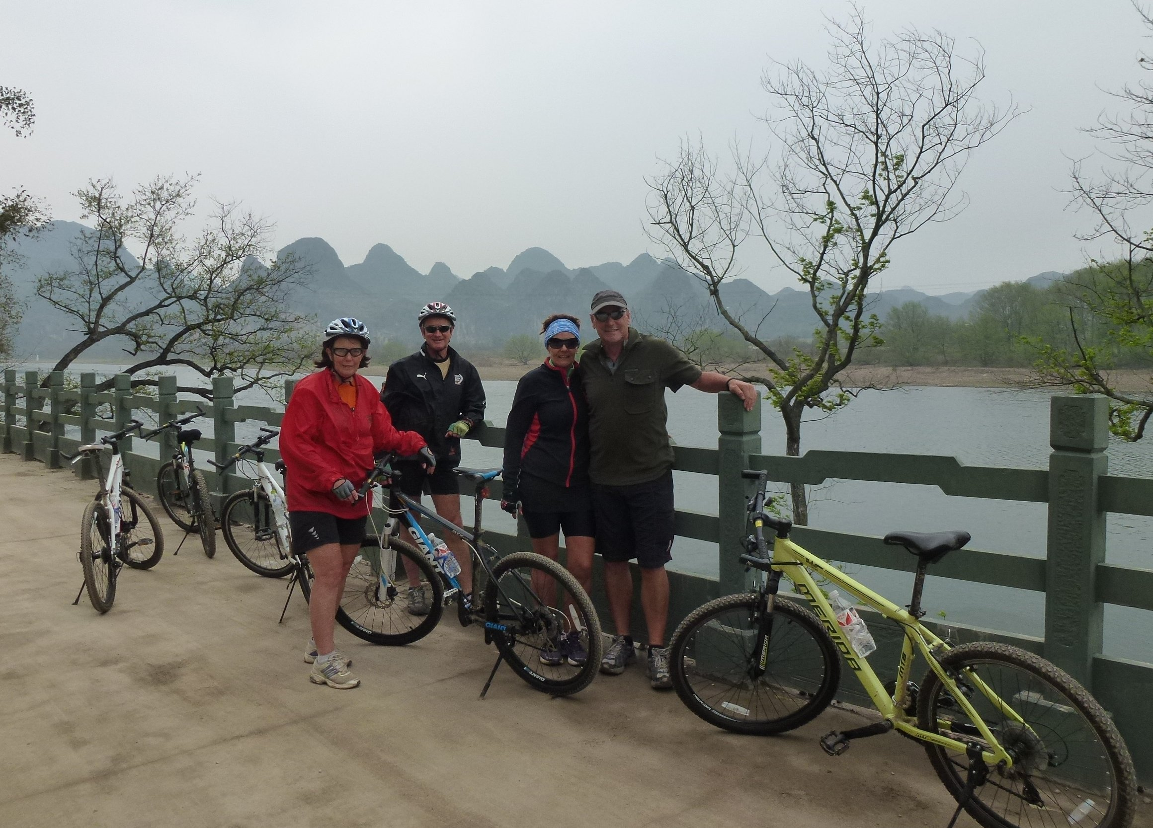 Gulin cycle tour on the way to the Crown Caves