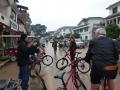 Leaving XingPing to bike to Yangshuo