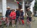 On the bike ride to Yangshou