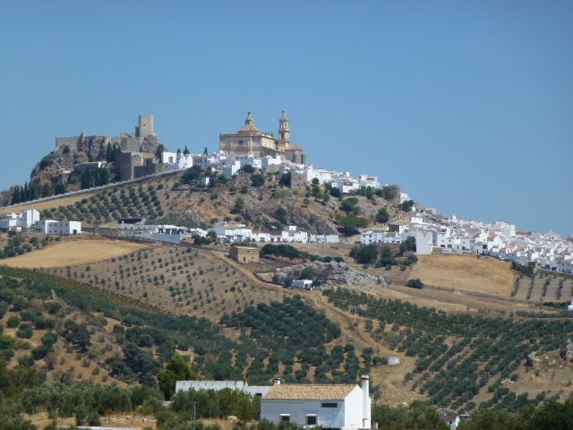 A white village in Andalucia